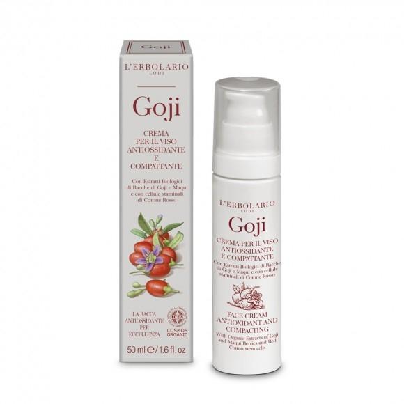 Goji - Crema per il Viso Antiossidante e Compattante