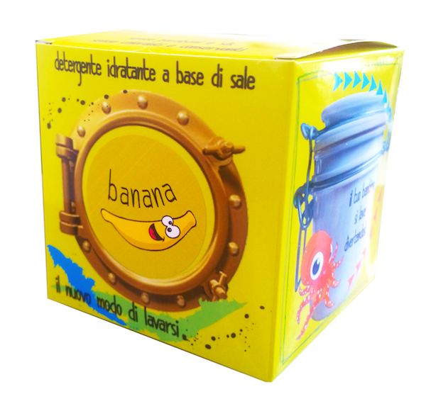 SAPONE MARINO BAMBINI: BANANA