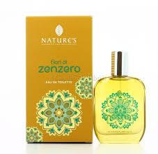 Acqua di profumo fiori di zenzero