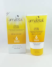 Crema Solare – SPF 6 INTENSIFICANTE, PROTETTIVA, EFFETTO LIGHT