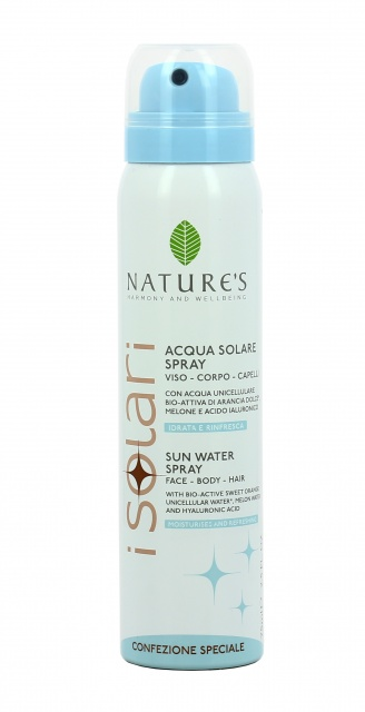 Acqua solare spray