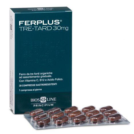 FerPlus Tre-Tard 30mg - 30 compresse