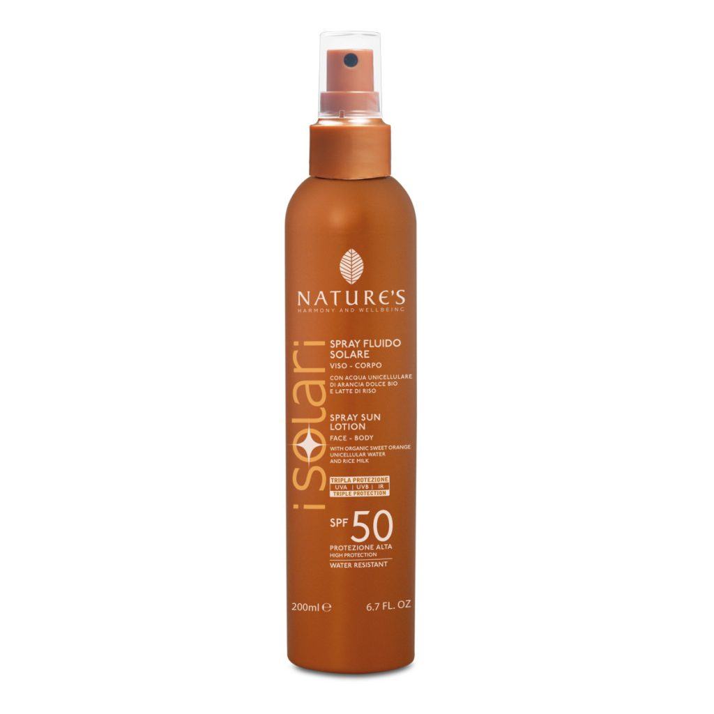 SPRAY FLUIDO SOLARE SPF 50 200ml