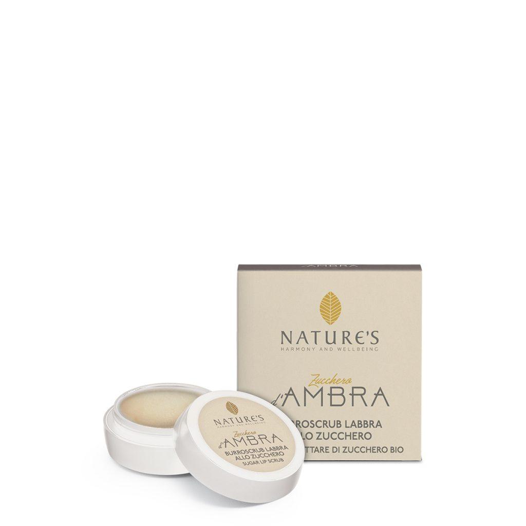 Burroscrub Labbra Zucchero d'Ambra