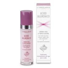 Crema Viso a tripla azione - Trattamento ricompattante anti-age per la notte - Acido Ialuronico