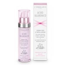 Crema Viso a Tripla Azione per pelli normali e secche - Acido Ialuronico