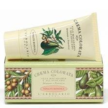Crema Colorata alla Macadamia e all'Avocado - tonalità Mandorla