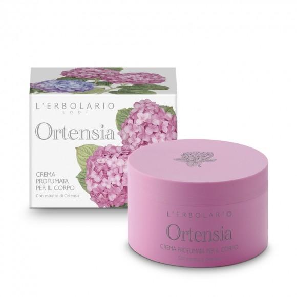 Crema profumata per il corpo - Ortensia