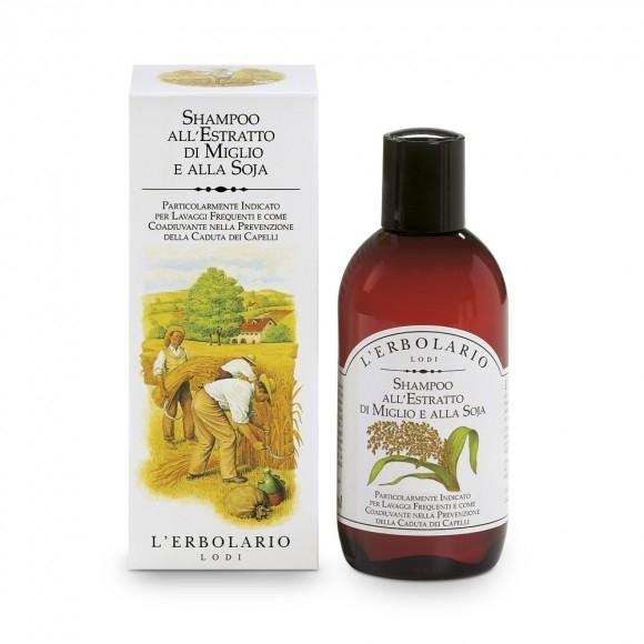 Shampoo all''Estratto di Miglio e alla Soja