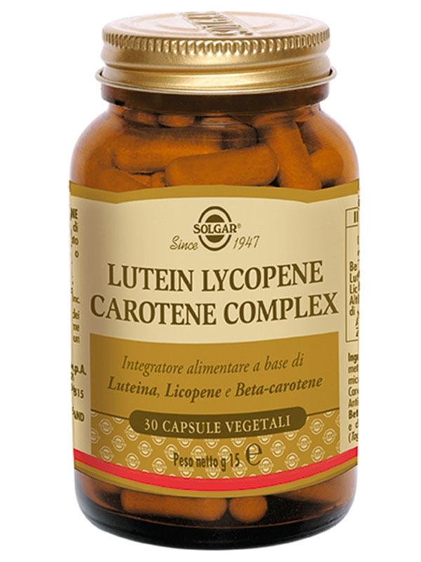 Lutein Lycopene Carotene Complex