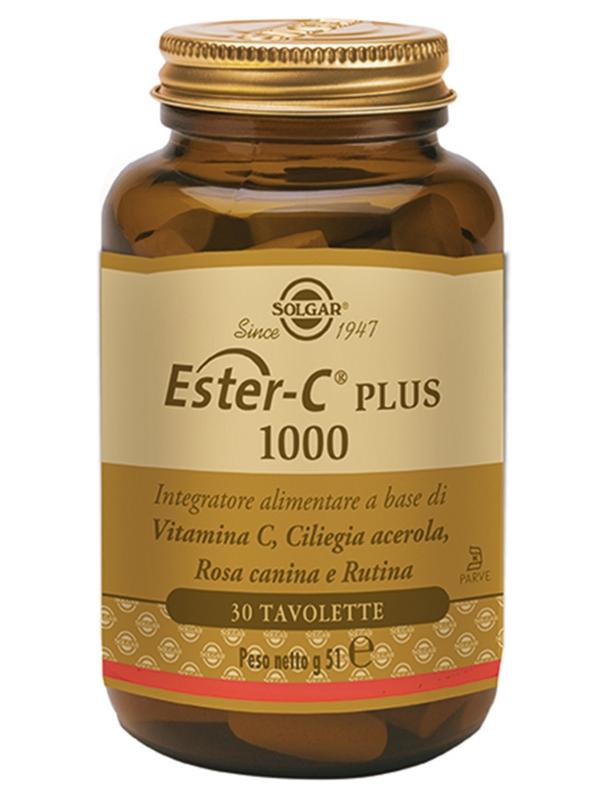 Ester C Plus 1000 - 30 Tavolette
